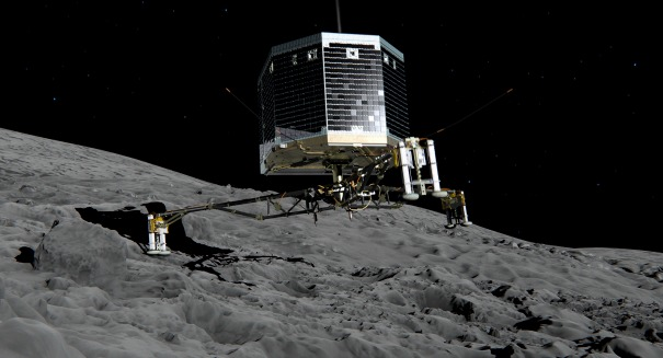 The Rosetta spacecraft is about to do something incredible