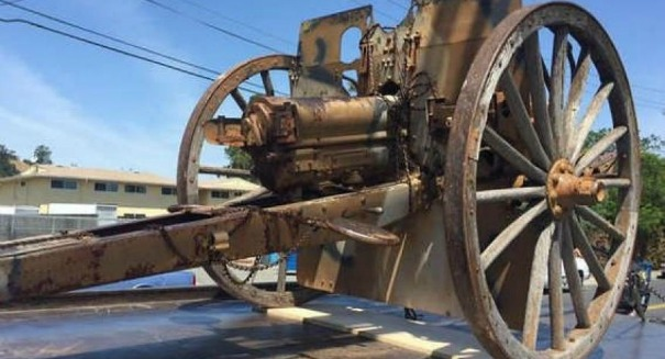 Thieves steal WWI-era cannon in stunning raid — and now it's back