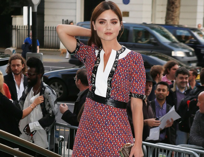 Jenna Coleman romantically linked to Tom Hughes