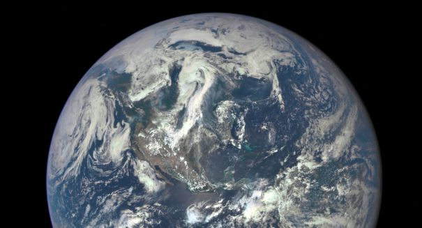 'Epic' photo taken of the Earth — from a million miles away