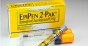 Chattanooga, United States - August 12, 2011: EpiPen is an Epinephrine auto-injector type syringe that is used to treat life-threatening allergic reactions or anaphylaxis.