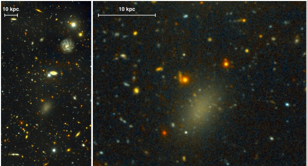 Scientists find a galaxy with an incredible secret