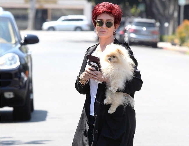 Sharon Osbourne reveals she once suffered a miscarriage