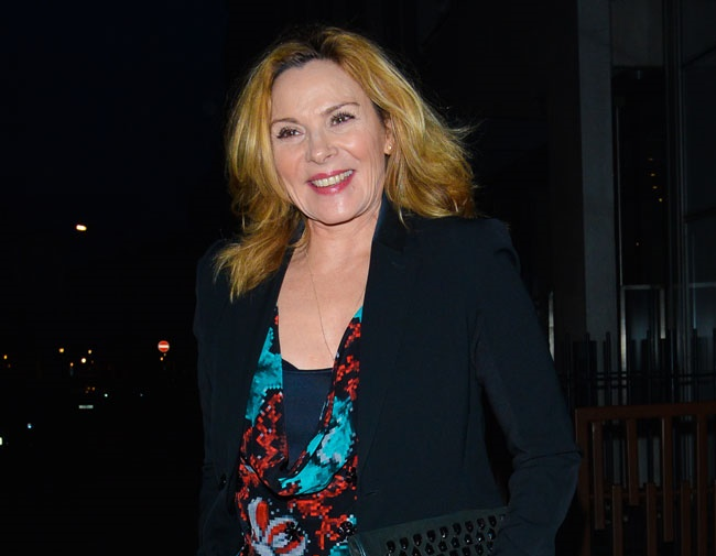 Kim Cattrall is concerned about Alzheimer's disease Kim Cattrall Dead
