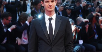 Andrew Garfield attends the premiere of 'Hacksaw Ridge' during the 73rd Venice Film Festival at Sala Grande on September 4, 2016 in Venice, Italy.