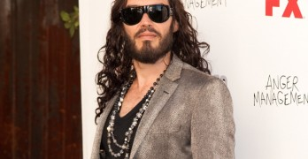 Arrivals of the FX Summer Comedies Party held at Lure in Hollywood, California.  Pictured: Russell Brand Ref: SPL410971  260612   Picture by: PWM / London Ent / Splash News  Splash News and Pictures Los Angeles:310-821-2666 New York:212-619-2666 London:870-934-2666 photodesk@splashnews.com