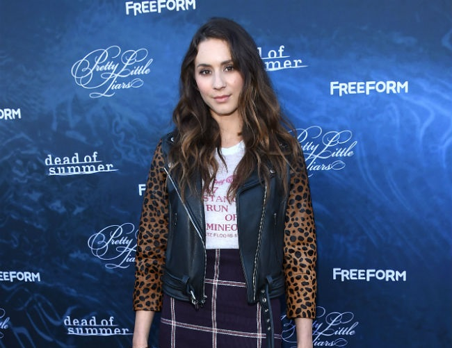 Troian Bellisario has a fear of short hair