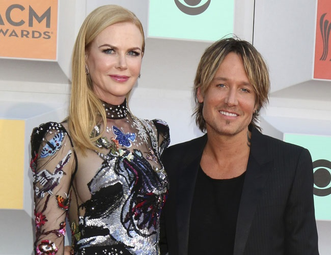 Nicole Kidman and Keith Urban regularly camp out