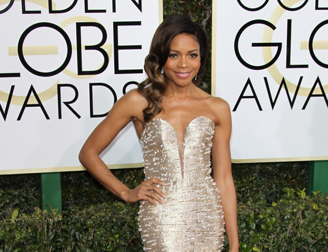 Naomie Harris enjoys volunteering at homeless shelters