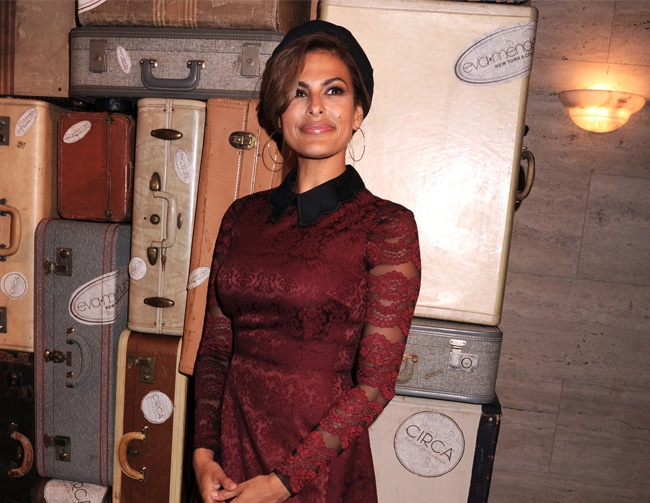 Eva Mendes not rushing to lose baby weight
