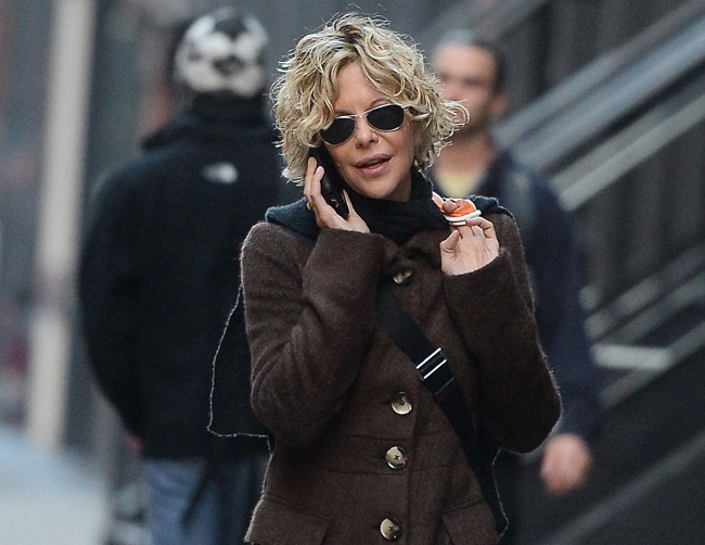 Meg Ryan enjoys renovating homes