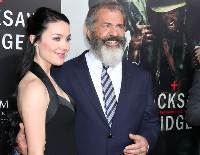Mel Gibson acknowledges the age gap with Rosealind Ross