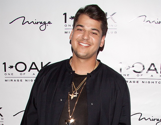 Rob Kardashian 'praying' for a son