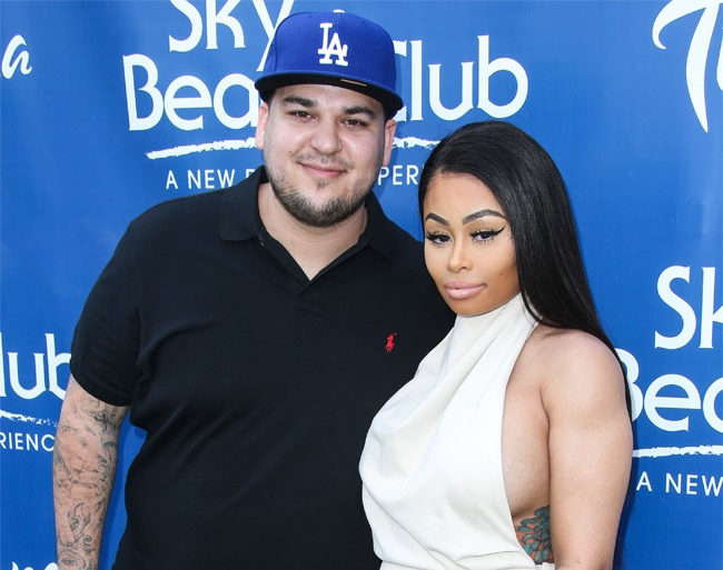 Blac Chyna and Rob Kardashian are back together