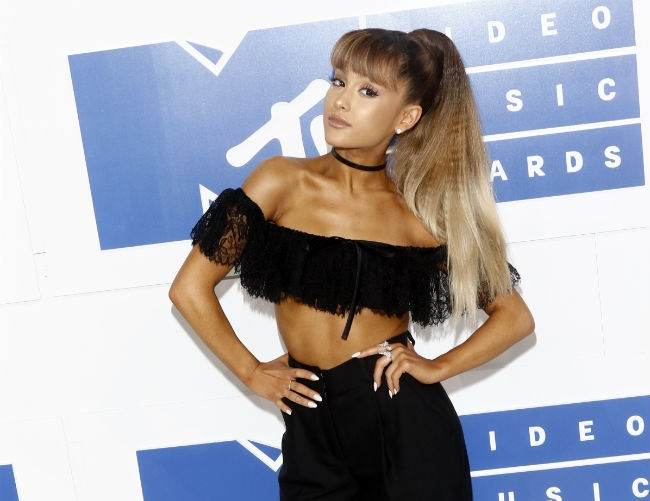 Ariana Grande is still adapting to fame
