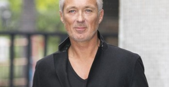 Actor and musician Martin Kemp is pictured leaving the ITV studios following a guest appearance on 'Lorraine'.  Pictured: Martin Kemp Ref: SPL768047  270514   Picture by: Simon Earl / Splash News  Splash News and Pictures Los Angeles:310-821-2666 New York:212-619-2666 London:870-934-2666 photodesk@splashnews.com