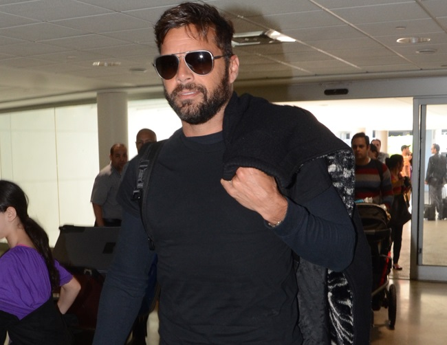 """Ricky Martin plans for a """"crazy and loud"""" wedding"""