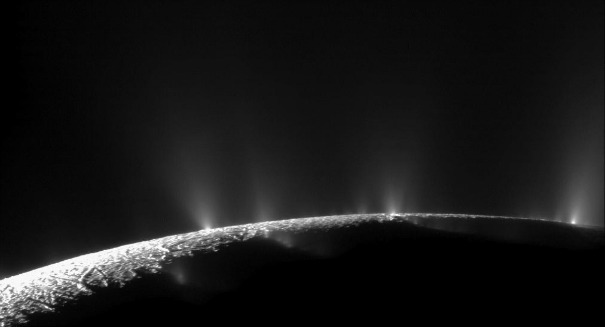 Scientists stunned: Shooting geysers captured on Saturn's moon Enceladus