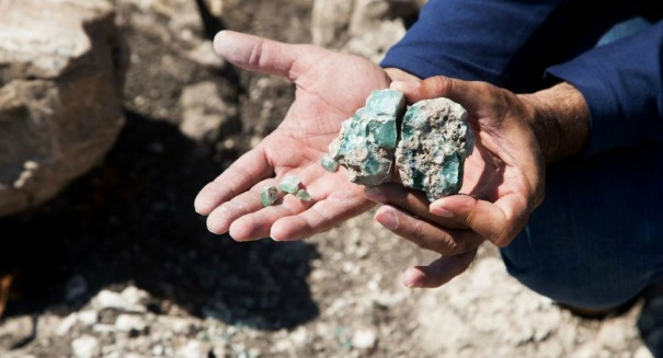 Stunning discovery of ancient glass in Israel floors archaeologists