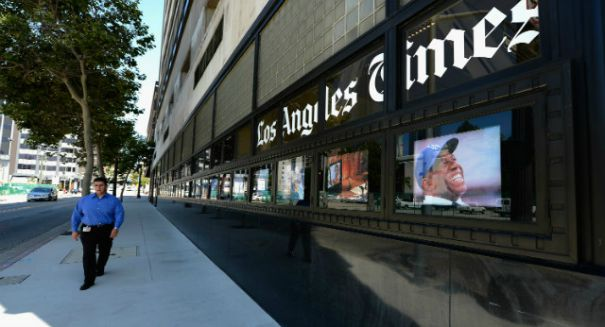 Is the Los Angeles Times in big trouble?