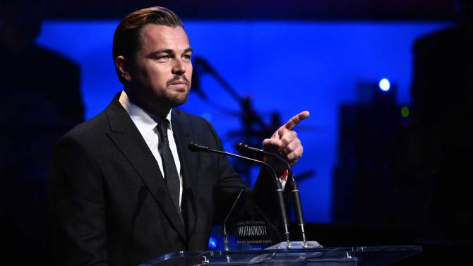 Leonardo DiCaprio is watching you