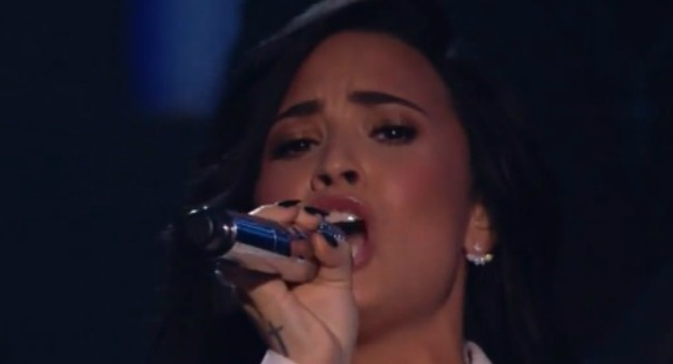 WATCH: Demi Lovato brings down the house with Lionel Richie tribute at Grammys [VIDEO]