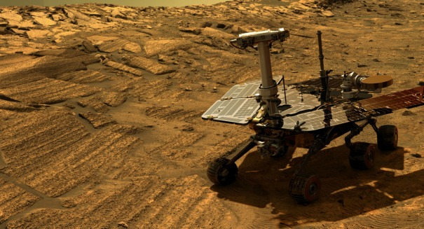Mars Opportunity rover makes a stunning achievement