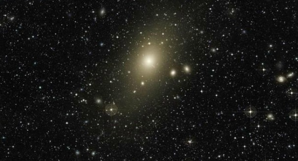 The massive Messier 87 galaxy is cannibalizing other galaxies