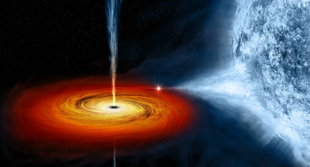 For the first time ever, a black hole was seen to gobble up a star