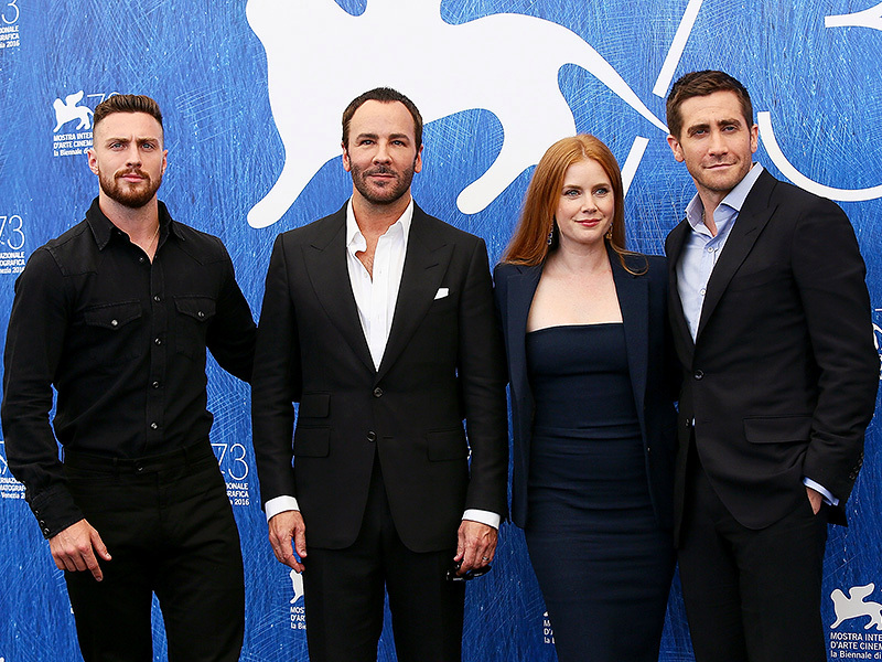 Amy Adams and Jake Gyllenhaal are 'Nocturnal Animals' in Tom Ford's psychosexual thriller