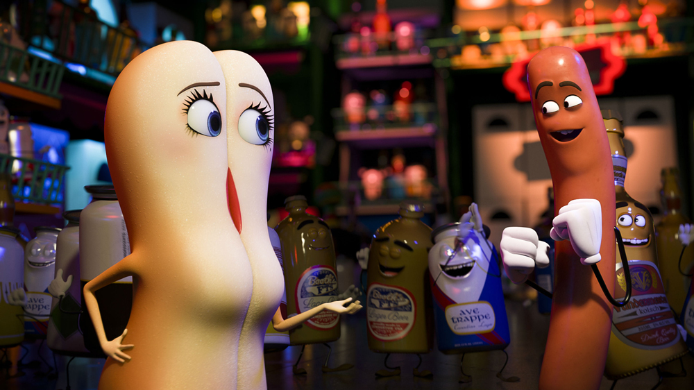 Now on DVD: Writer/producers Evan Goldberg and Seth Rogen invite us to their 'Sausage Party'