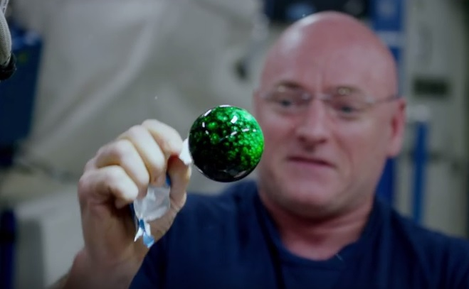 Exploding water balls in space? NASA releases amazing high-def video from ISS [VIDEO]