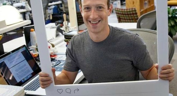 Something unbelieved spotted in photo of Facebook founder Mark Zuckerberg